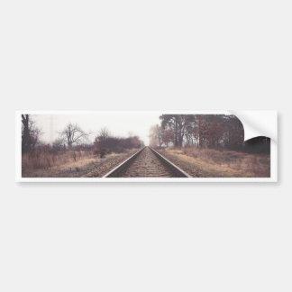 Railway to the Infinity Bumper Sticker
