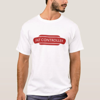 Railway Totem Fat Controller Red Hiking Duck T-Shirt