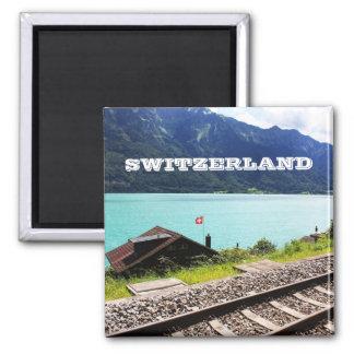 Railway track in Swiss Magnet