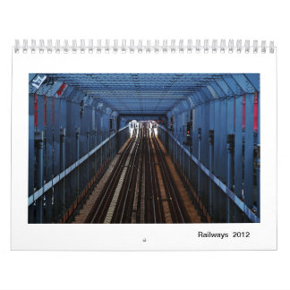 Railways 2012 wall calendars