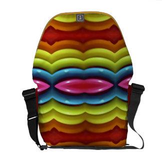 Raimbow Colors Rickshaw Messenger Bag