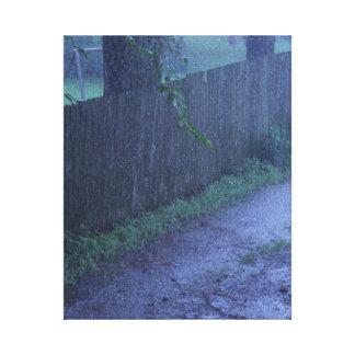 Rain and Mud Canvas Print