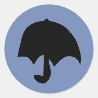 Rain Classic Round Sticker