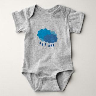 Rain Cloud Vest Baby Bodysuit