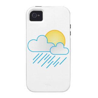 Rain Clouds iPhone 4 Cover