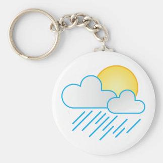 Rain Clouds Key Chains