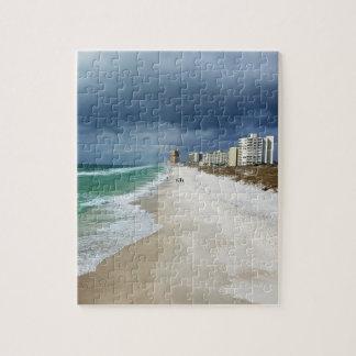 Rain Clouds over Panama City Beach, Florida Jigsaw Puzzle