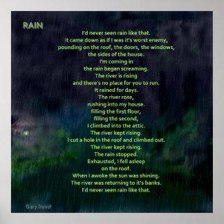 Rain, concept art by Gary Revel Poster