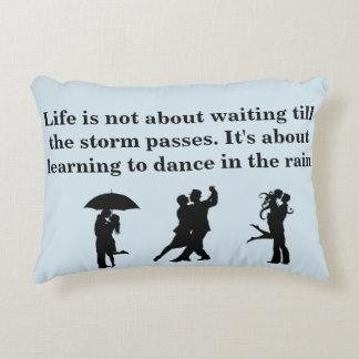 Rain Dance Of Life Decorative Cushion