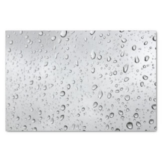 Rain Droplets Tissue Paper