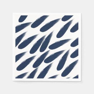 Rain Drops Abstract Paper Napkins Paper Napkin