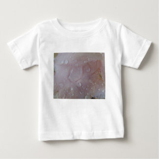Rain Drops On An Iris Petal Baby T-Shirt