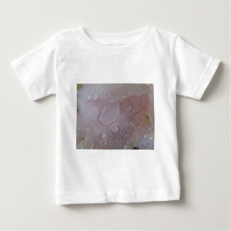 Rain Drops On An Iris Petal Baby T-Shirt