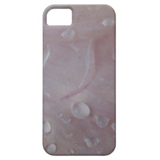 Rain Drops On An Iris Petal iPhone 5 Covers
