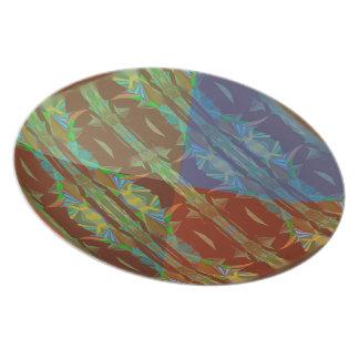 Rain Forest Cones5 Plate