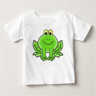 Rain forest Green Frog Baby T-Shirt