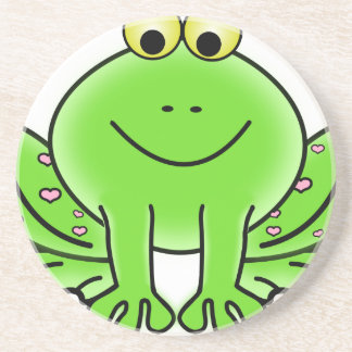 Rain forest Green Frog Coaster