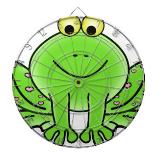 Rain forest Green Frog Dartboard