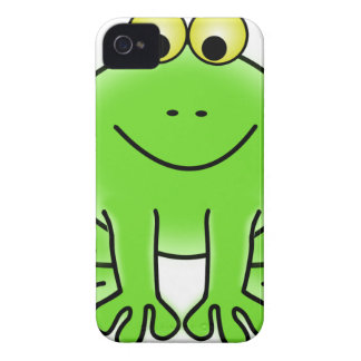 Rain forest Green Frog iPhone 4 Cover