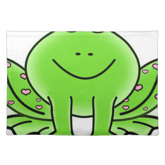 Rain forest Green Frog Placemat