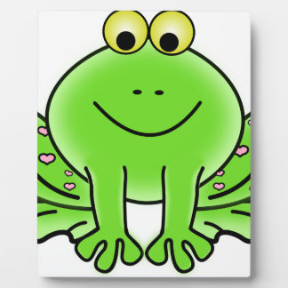 Rain forest Green Frog Plaque