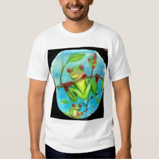 Rain Forest Green Tree Frog Shirts