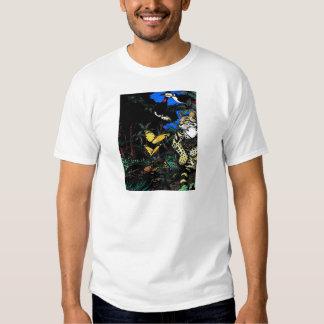 Rain Forest Ocelot Tee Shirts