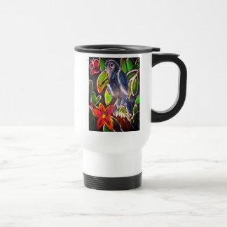 Rain  Forest  Toucan art Travel Mug