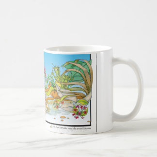 Rain Forrest cartoon Character Mug