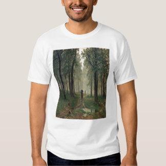 'Rain in an Oak Forest' T Shirts