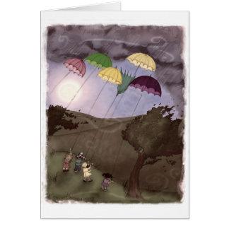 Rain Kites Card