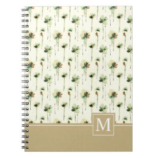 Rain of White Flowers  | Notebook