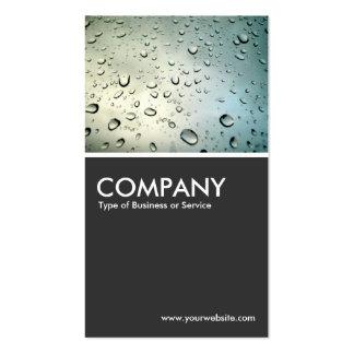 Rain on my Window - Dark Gray Pack Of Standard Business Cards