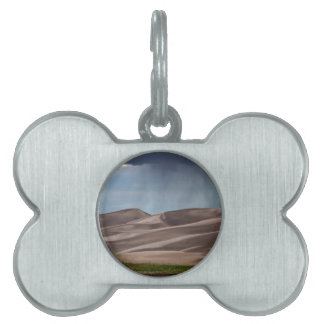 Rain on the Great Sand Dunes Pet Name Tags