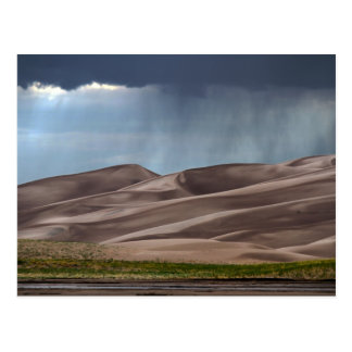 Rain on the Great Sand Dunes Postcard