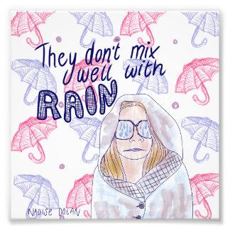 Rain Photo Print