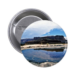 Rain Pool - Canyonlands National Park Pinback Buttons