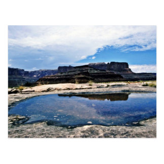 Rain Pool - Canyonlands National Park Post Card
