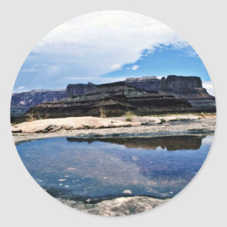 Rain Pool - Canyonlands National Park Stickers