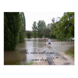 Rain Post Cards