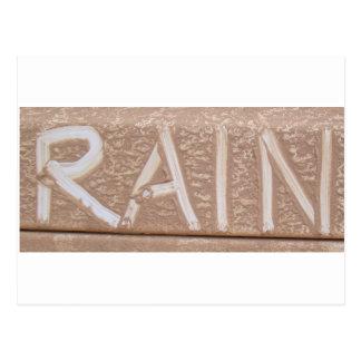 RAIN 'Tailgate Talk' Postcard