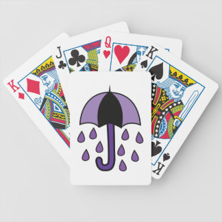 Rain Umbrella Poker Deck