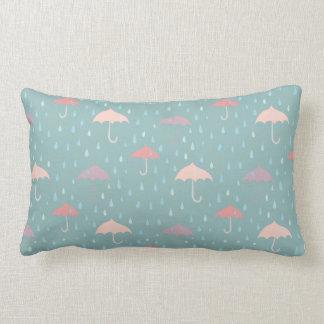 Rain weather cushion mint