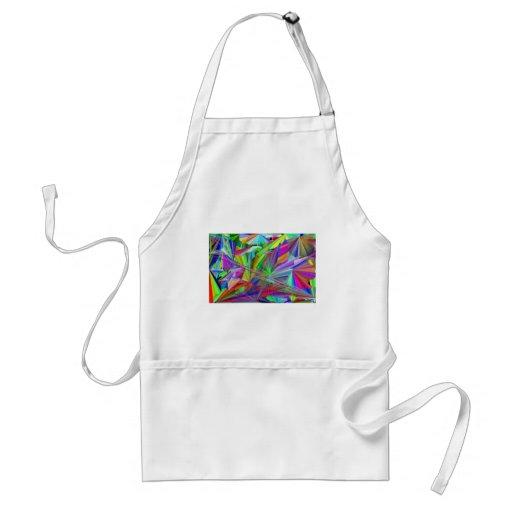 rainbiw line of color apron