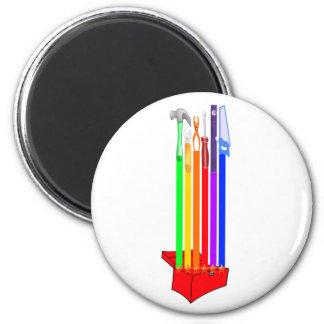 Rainbo Toolbox 6 Cm Round Magnet