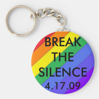 rainbow2, BREAKTHESILENCE, 4.17.09 Key Ring