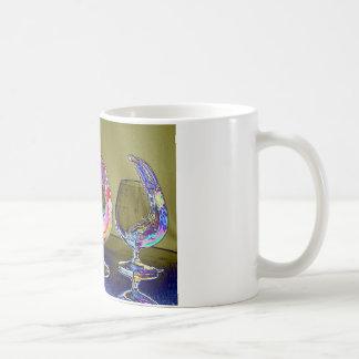 Rainbow 2 basic white mug