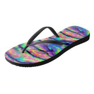 Rainbow Abalone Thongs