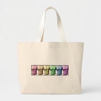 Rainbow Abs Bags