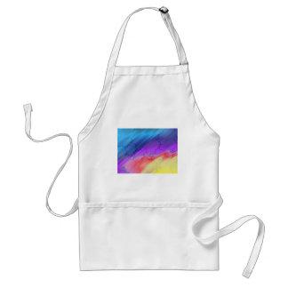 Rainbow Abstract Apron